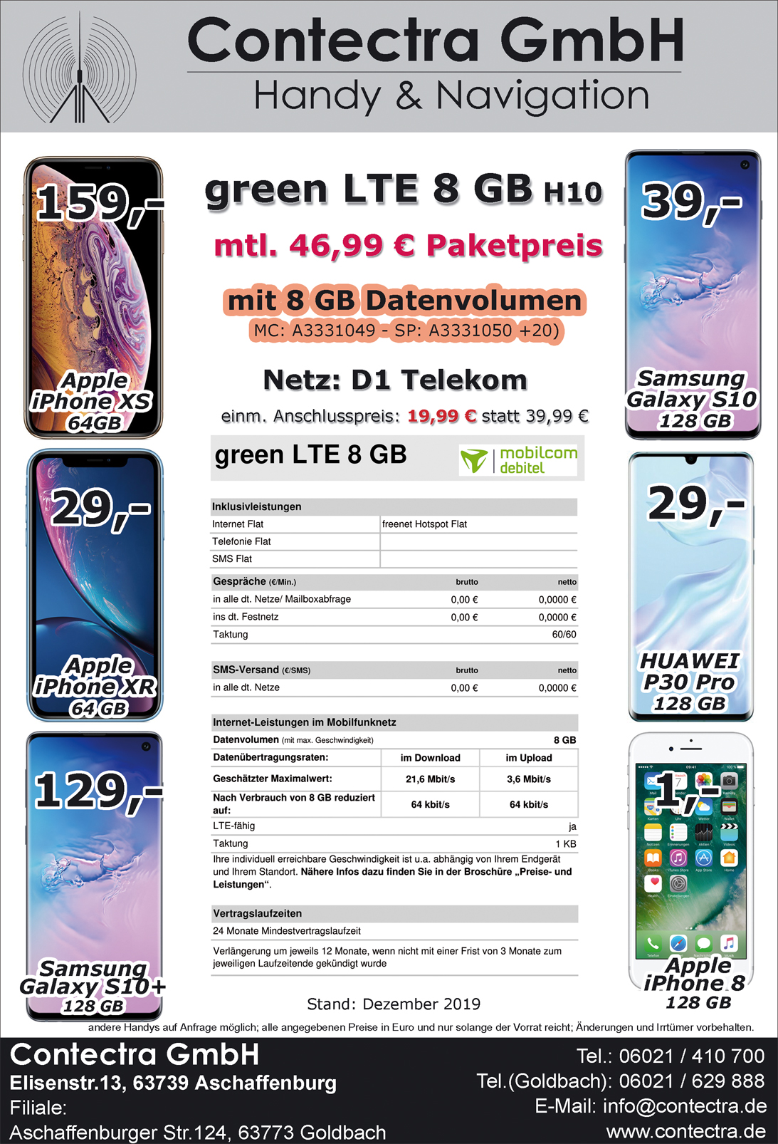 green LTE 8 GB H10 Dez19